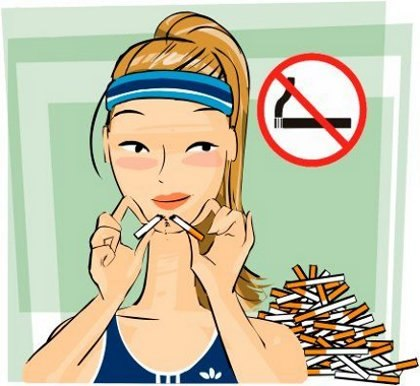 Счастливые не курят