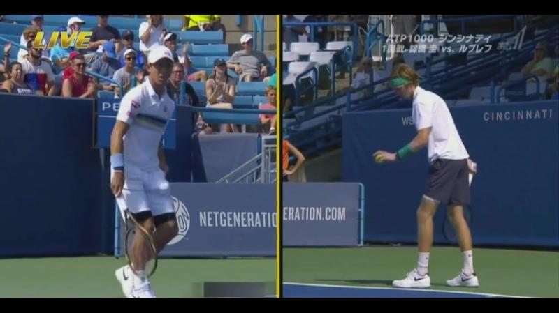 錦織出場 ATP マスターズ1000  ウエスタン12469;ザンオープン~シンシナティ