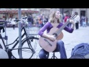 Street Musician ( Justyna Maria Janiczak ) Florence, Italy - HD