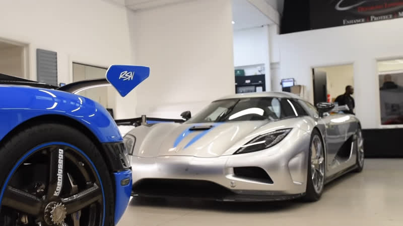 The $10 MILLION Detail! Is This The Most EXPENSIVE New Car To Come To Topaz - 3x Koenigsegg Agera