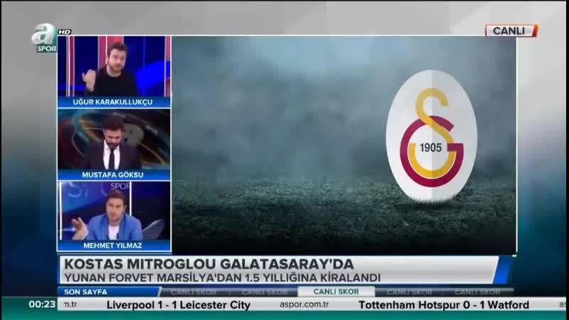 Galatasaray Transfer Gündemi Uğur Karakullukçu Diagne ve Mitroglou Transfer Yorumları