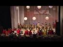 Финал концерта фестиваля Мы - волонтеры Великой страны, в котором одновременно участвовало 310 человек.