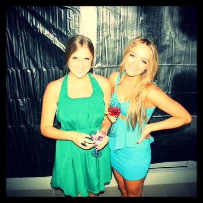 Photo of Cleo Massey & her friend   -