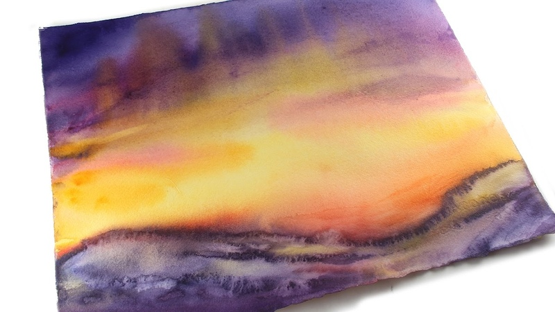 Painting an Easter Dawn Sky