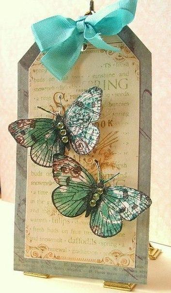 Идеи для декора с бабочками. (7 фото) - картинка