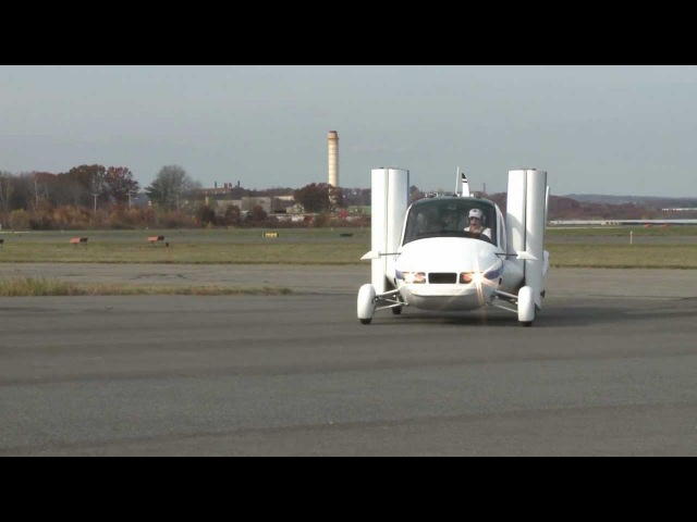 The Terrafugia Transition Roadable Aircraft - A Car Converts To An Airplane!
