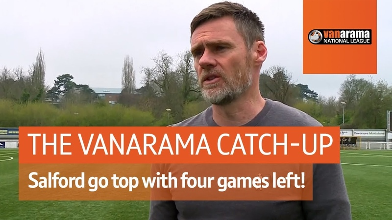 Salford go top and send Maidstone down Vanarama National League Highlights Show Matchday 42