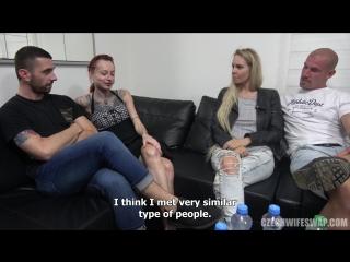Anal superfuck (czech wife swap 11 part 4) [big tits, dildo, hardcore, oral, anal sex]
