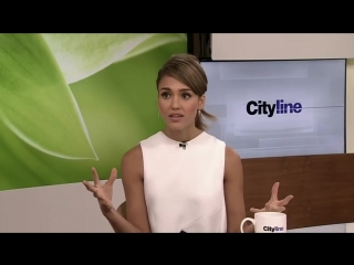 Jessica Alba talks about her all-natural The Honest Company