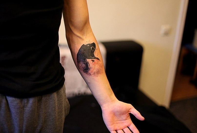 Где набить татуировку на руке