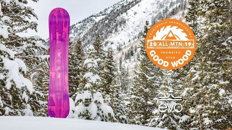 Dinosaurs Will Die Kwon Review Men's All-Mountain Winner – Good Wood Snowboard Test 2018-2019