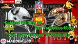 Oakland Raiders vs. San Francisco 49ers NFL 2018-19 Week 9 Predictions Madden NFL 19