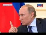 Если мы введем войска в Украину, то будем стоять позади женщин и детей. Пусть они попробуют в них стрелять, - Путин.