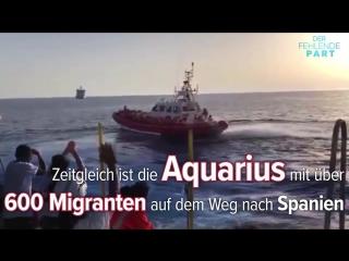 Italien lässt Schiff mit über 900 Migranten anlegen