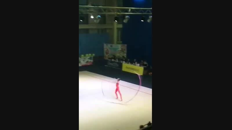 Кристина Пограничная Лента - Чемпионат Украины Днепр 2018