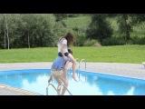 Таня, Коля и бассейн)