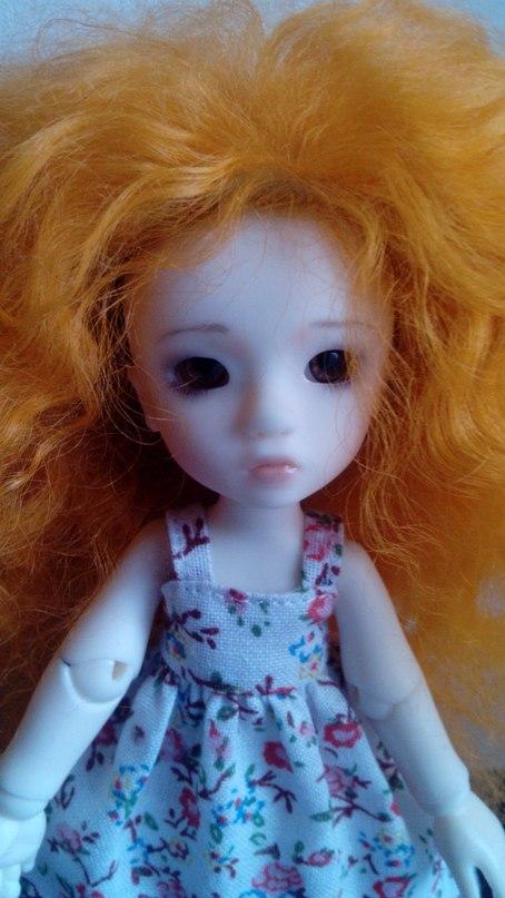 Меняю куклу бжд 14 см на миниатюру