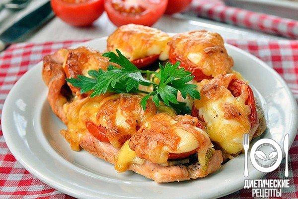 Куриное филе с сыром: