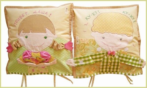 Подушку для ребенка сшить фото 655