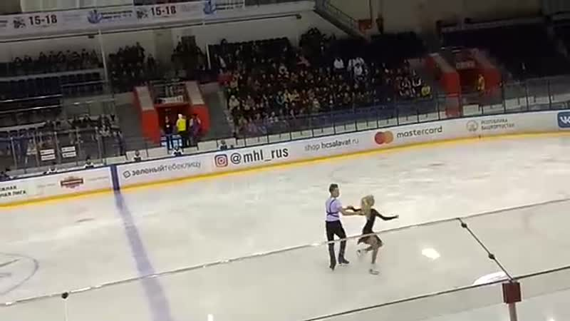 II Российско-Китайские молодежные зимние игры Танцы на льду, юниоры, ПТ Диана Дэвис/Глеб Смолкин