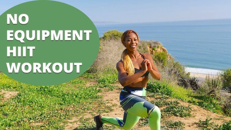 HIIT Workout No Equipment - Bodyweight Cardio Exercises