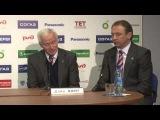 КХЛ'13/14: Пресс-Конференция после матча между командами ХК «Локомотив» - ХК «СКА» - 2:0.