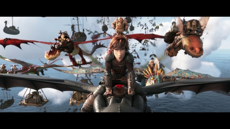 How To Train Your Dragon The Hidden World - In Cinemas February 1 - Trouble