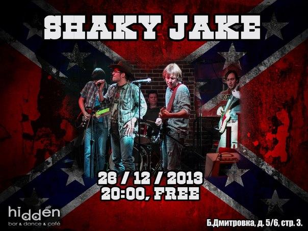 26.12 Shaky Jake в Hidden Bar
