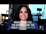 Demi Lovato is a self-proclaimed romantic, but you have to have one main quality to date her Humor.