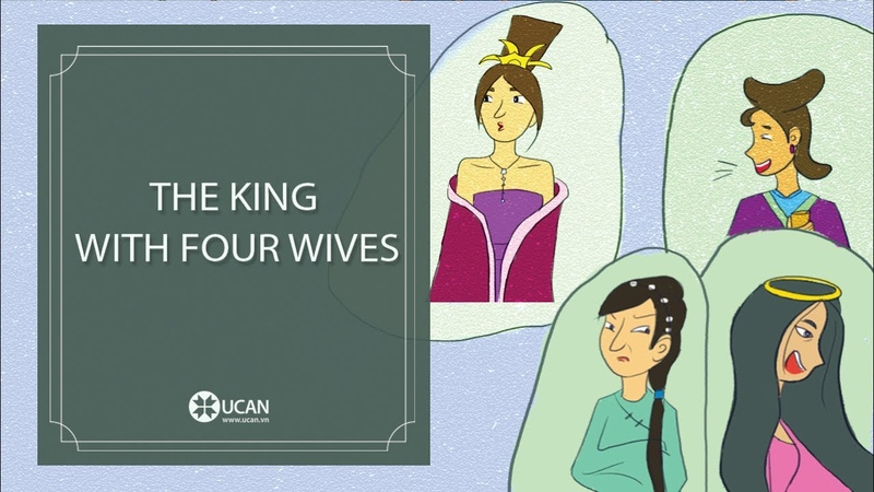 Learn English Listening | English Stories - 95. The King with four wives