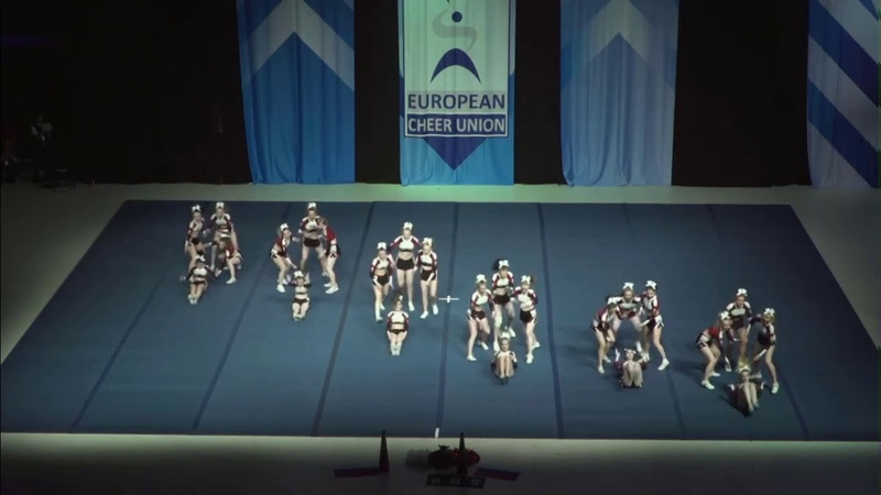 Cheerleading Senior Cheer All Girl Premier Russian Federation No Limit