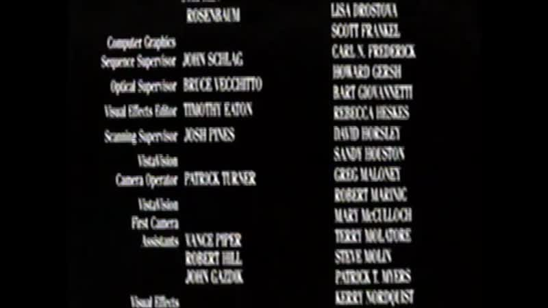 Movie End Credits 139 Forrest Gump