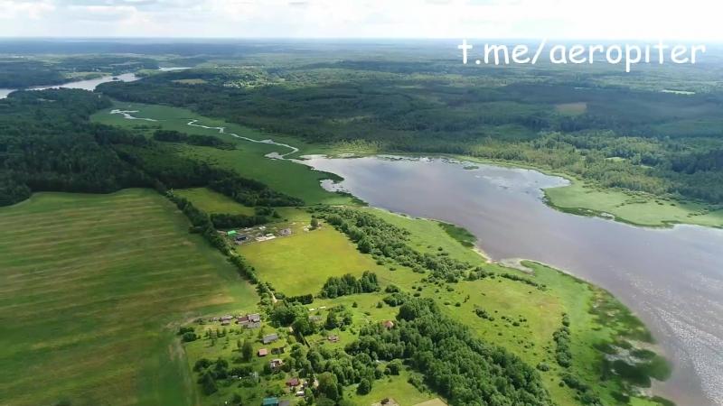 Озеро Меревское. Лужский район Ленинградской области.