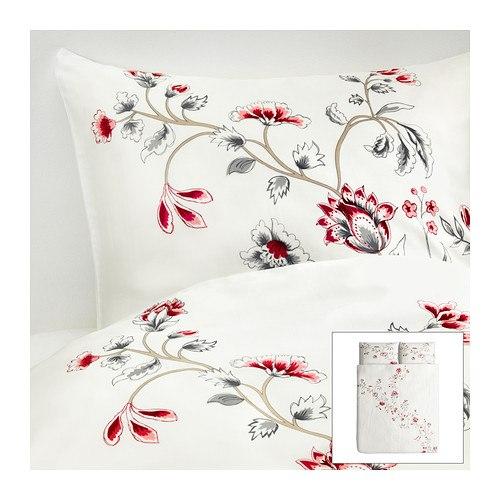 Цветочный принт ИКЕА для спальни