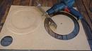 Fazendo círculos perfeitos em mdf, Drywall e gesso com serra bailarina, como fazer serra bailarina.