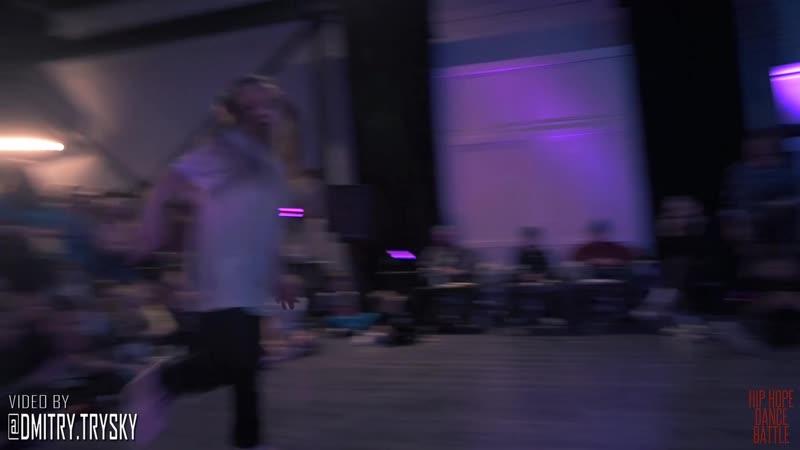 Мурашев Артём Vs Червова Василиса Hip-Hop Young Dancer HIP-HOPE 18-11-18