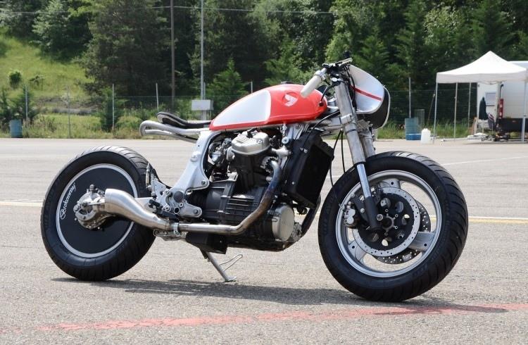 Bandisca Motorcycles: кастом Honda GL500 Brokenwing