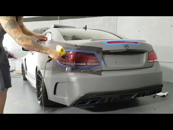 How to tint tail lights with air release tint. Tinting tail lights pros and cons. By @ckwraps