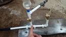 Невероятно но это работает Насос качает воду без электричества