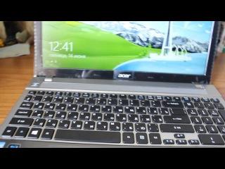 обзор на ноутбук Acer Aspire V3 571G
