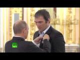 Овечкин и Малкин жжжгут! Владимир Путин встретился с российскими хоккеистами