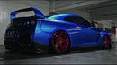 RAMPAGE Mode Nissan GT R R35 w ARMYTRIX Exhaust ADV1 Wheels Airlift Bagged