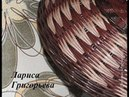 Плетение из газет Узор гусиные лапки Масте класс
