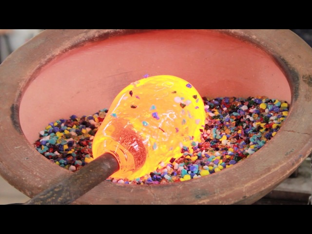 The Amazing Birth Of A Hand Blown Glass Pitcher