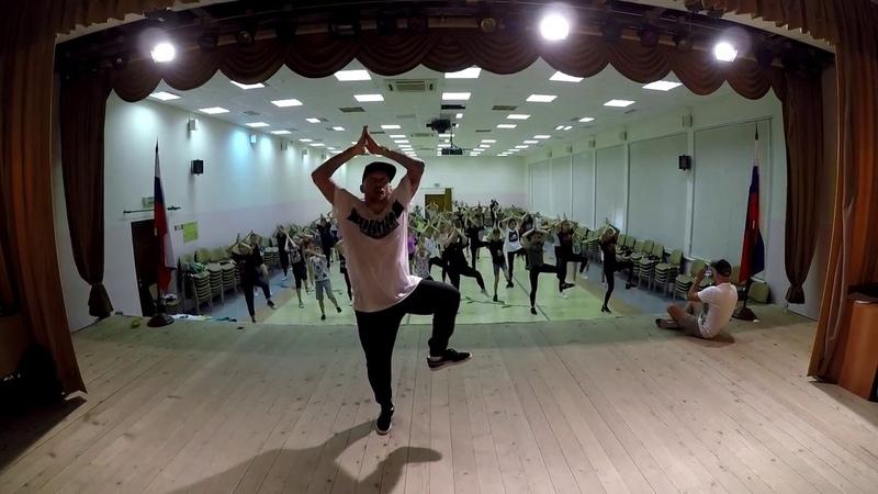 "Hip Hop Choreography in RADUGA DANCE CAMP"" @raduga dance camp 8 07 2018 Дивноморское Россия"