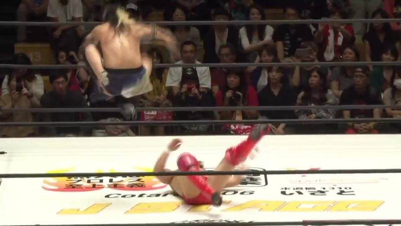 Kenshin Chikano, Shota Nakagawa vs. Koji Kanemoto, Minoru Tanaka (J STAGE - Korakuen Hall)