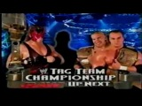 Kane & The Hurricane vs. Lance Storm & Christian w/William Regal (WWE Tag Team Championship)