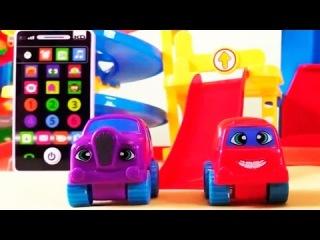 Мультик про машинки: Учим алфавит с машинками: Детский планшет: Развивающий мультик