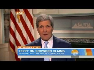 Edward Snowden Full Interview | Kerry: 'Pretty dumb' Edward Snowden blames US for stranding him