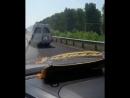 Резиновая газель на дорогах Башкирии (автодорога Уфа - Стерлитамак